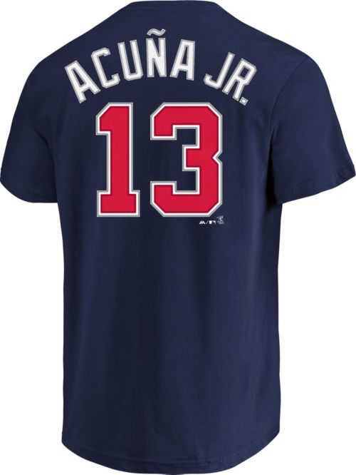 e30897d76 Majestic Boys  Atlanta Braves Ronald Acuna  13 Navy T-Shirt