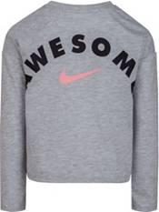 Nike Little Girls' Logo Graphic Long Sleeve Shirt product image