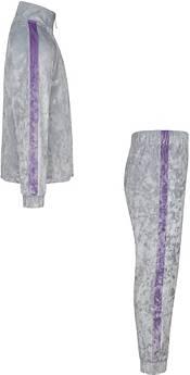 Nike Little Girls' Crushed Velour Full-Zip Jacket and Jogger Pants Set product image
