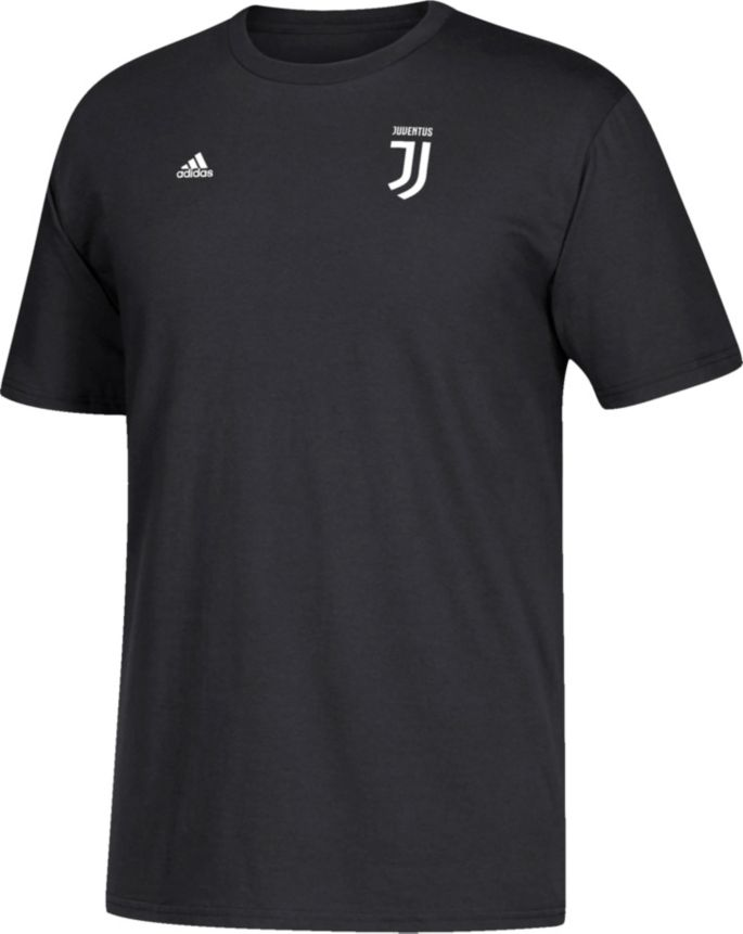 size 40 a60c7 9dc2d adidas Men's Juventus Cristiano Ronaldo #7 Black Player T-Shirt