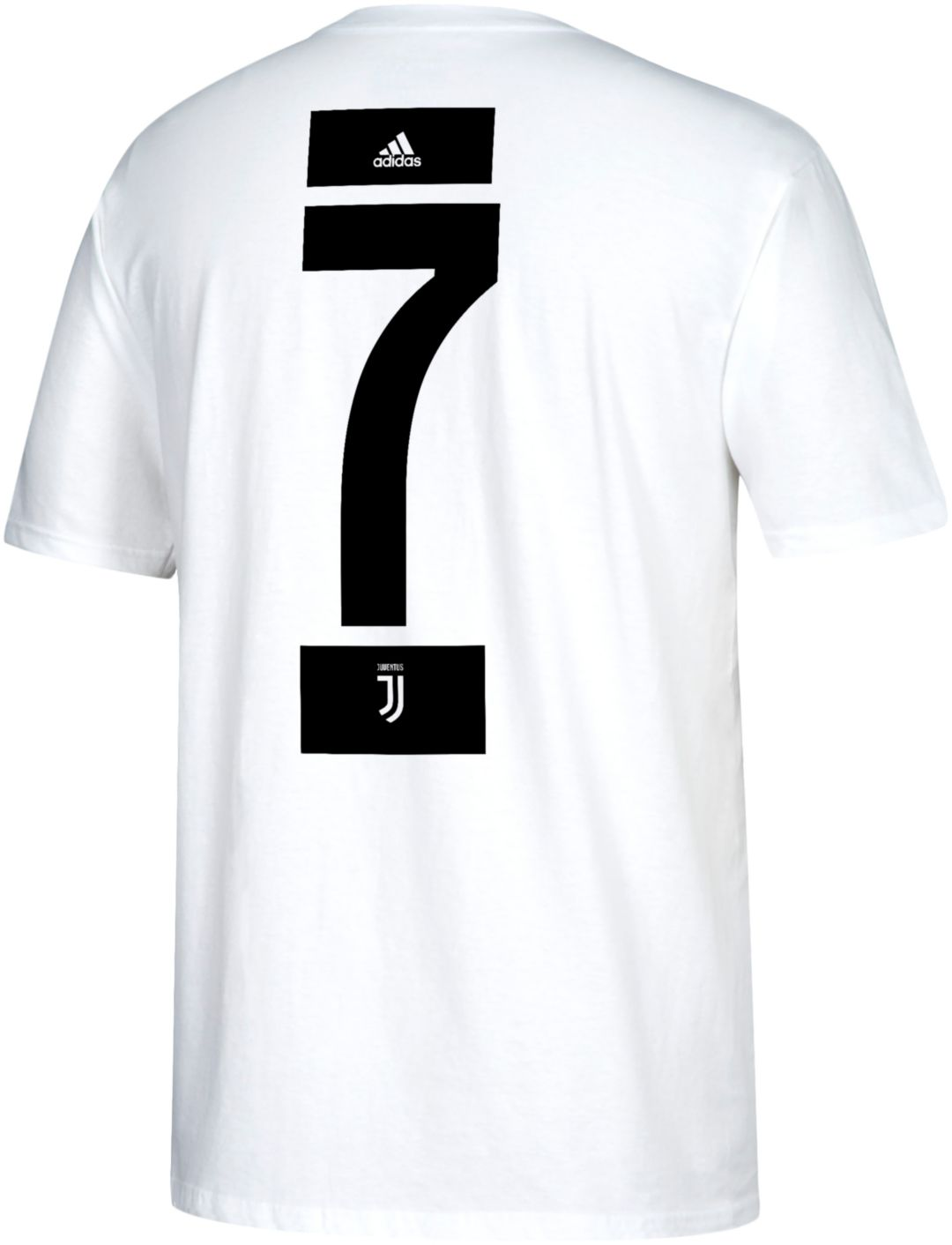 size 40 49651 8b682 adidas Men's Juventus Cristiano Ronaldo #7 White Player T-Shirt