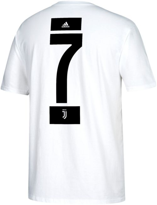e146b9360 adidas Men s Juventus Cristiano Ronaldo  7 White Player T-Shirt.  noImageFound. Previous. 1. 2. 3