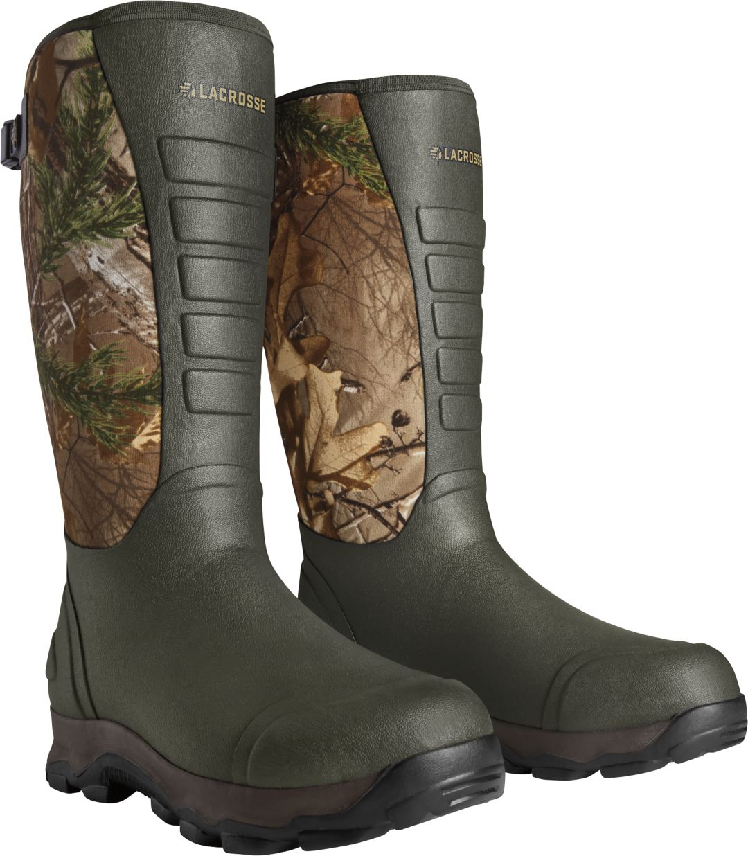 c6f80834461 LaCrosse Men's 4xAlpha 16'' Realtree Xtra 7.0mm Rubber Hunting Boots