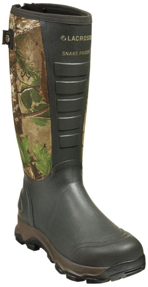 """06474dfd3e3 LaCrosse Men s 4x Alpha Snake Boot 16"""" 3.5 mm Hunting"""