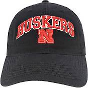 League-Legacy Men's Nebraska Cornhuskers Relaxed Twill Adjustable Black Hat product image