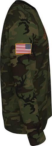 Nike Men's Clemson Tigers Camo Veteran Long Sleeve T-Shirt product image