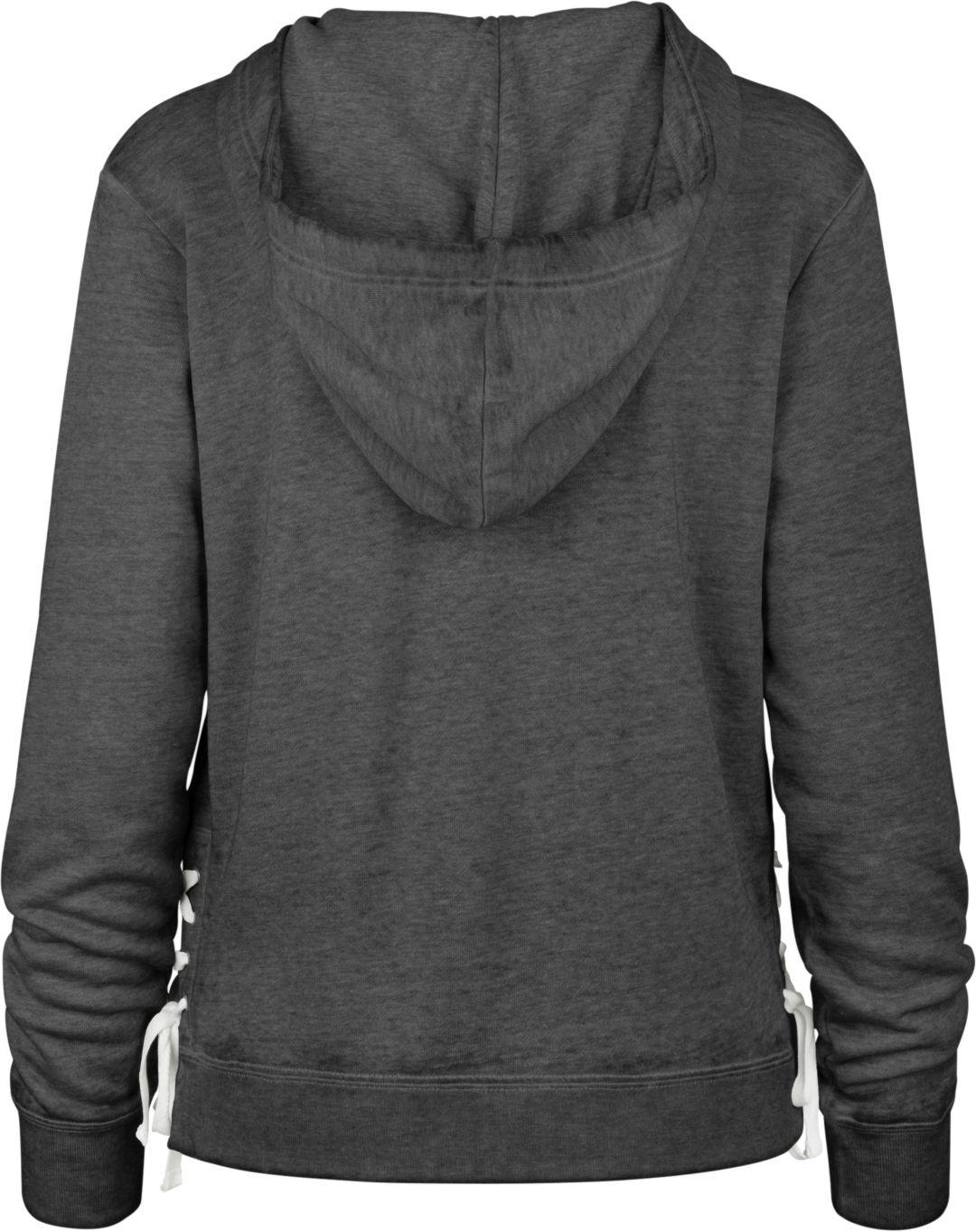 buy online ea3b3 e909b '47 Women's Minnesota Vikings Side Lace Black Hoodie
