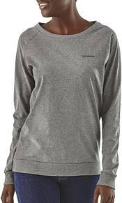 Patagonia Women's Pastel P-6 Logo Responsibili-Tee Long Sleeve Shirt product image