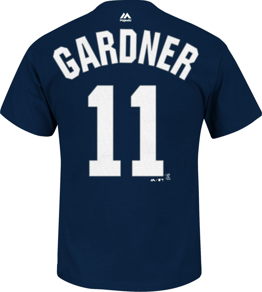 lowest price a58cf a612b Majestic Youth New York Yankees Brett Gardner #11 Navy T-Shirt