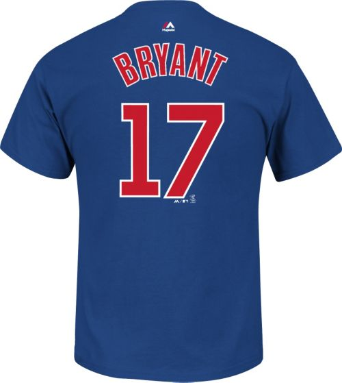 2557ff949 Majestic Youth Chicago Cubs Kris Bryant  17 Royal T-Shirt. noImageFound.  Previous. 1. 2. 3