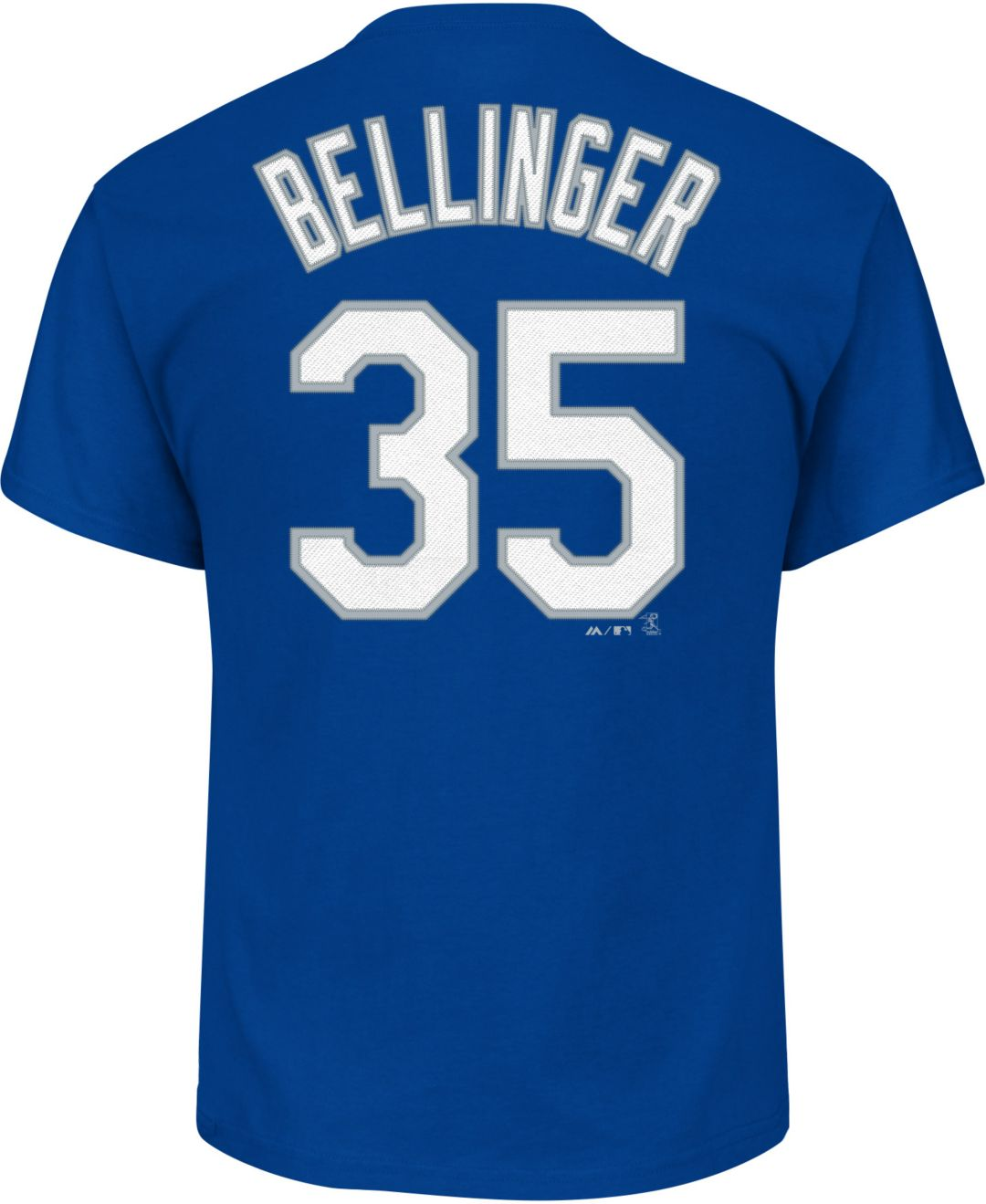 151def5b Majestic Youth Los Angeles Dodgers Cody Bellinger #35 Royal T-Shirt