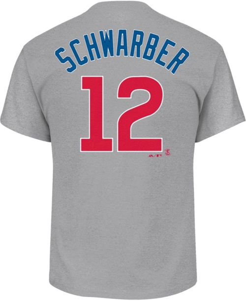 83bc2b5d6 Majestic Youth Chicago Cubs Kyle Schwarber  12 Grey T-Shirt. noImageFound.  Previous. 1. 2. 3