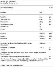 GNC AMP Wheybolic Protein Chocolate Fudge 10 Servings product image