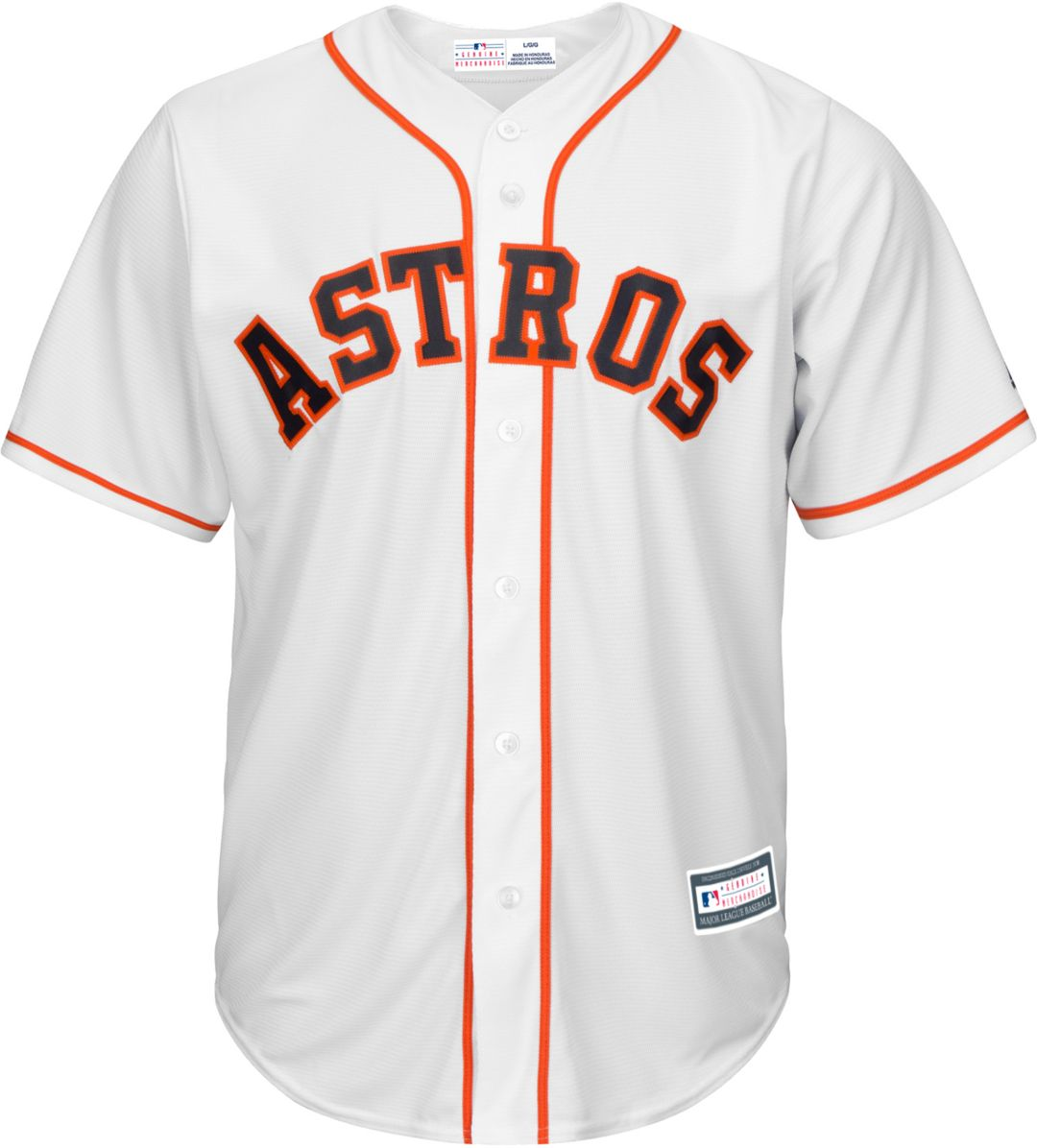 Astros Jersey White Home Replica 2 Alex Houston Youth Bregman