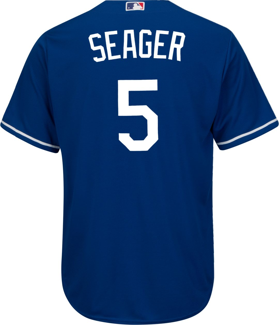 best loved 4a5d1 64a2c Youth Replica Los Angeles Dodgers Corey Seager #5 Alternate Royal Jersey