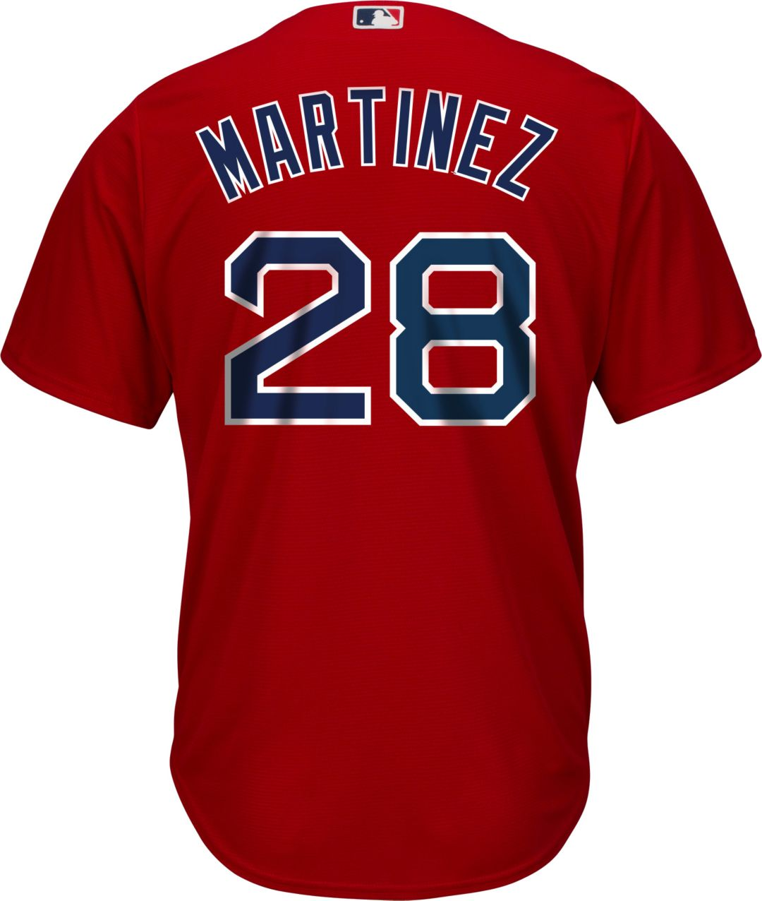 best sneakers 7be0a 54810 Youth Replica Boston Red Sox J.D. Martinez #28 Alternate Red Jersey