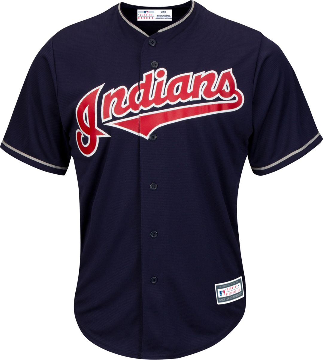 f7e7a9d7f6b Youth Replica Cleveland Indians Corey Kluber #28 Alternate Navy Jersey 2