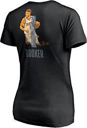 NBA Women's Phoenix Suns Devin Booker #1 Black Cotton T-Shirt product image