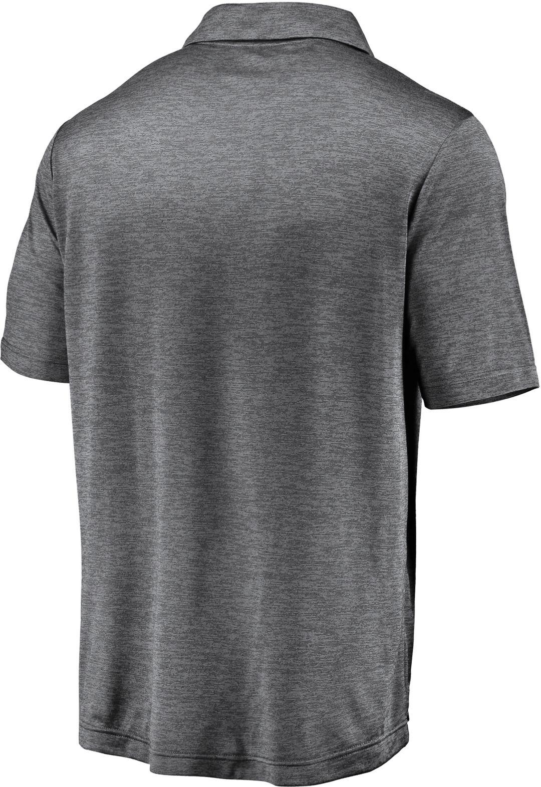 on sale 64549 5ad25 NHL Men s Dallas Stars Logo Grey Polo   DICK S Sporting Goods