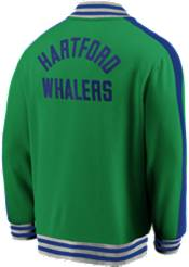 NHL Men's Hartford Whalers Varsity Green Full-Zip Track Jacket product image