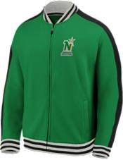 NHL Men's Minnesota North Stars Varsity Green Full-Zip Track Jacket product image