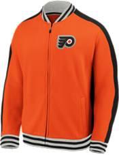 NHL Men's Philadelphia Flyers Varsity Orange Full-Zip Track Jacket product image
