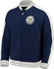 NHL Men's Pittsburgh Penguins Varsity Navy Full-Zip Track Jacket product image