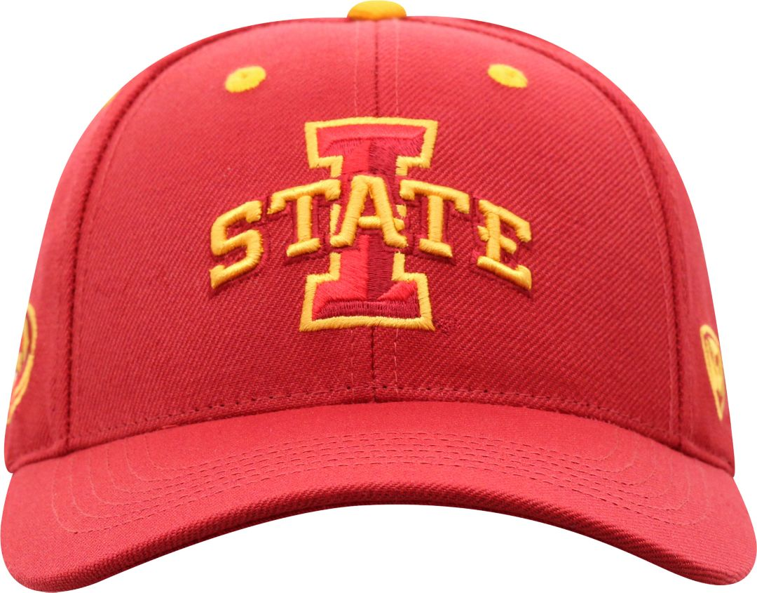 8aa5db5b5 Top of the World Men's Iowa State Cyclones Cardinal Triple Threat  Adjustable Hat