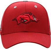Top of the World Men's Arkansas Razorbacks Cardinal Triple Threat Adjustable Hat product image