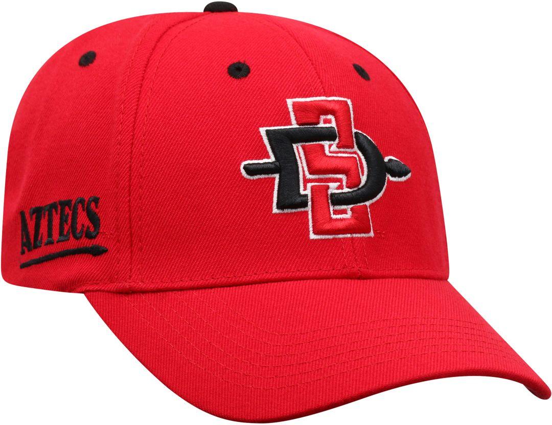 release date 09df8 cc412 Top of the World Men s San Diego State Aztecs Scarlet Triple Threat  Adjustable Hat. noImageFound. Previous. 1. 2. 3