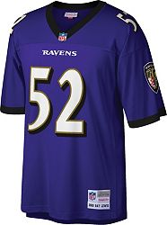 the latest d67b0 94337 Mitchell & Ness Men's 2000 Game Jersey Baltimore Ravens Ray Lewis #52