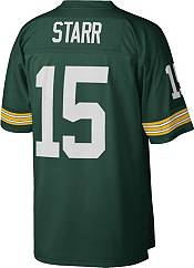 Mitchell & Ness Men's 1969 Game Jersey Green Bay Packers Bart Starr #15 product image