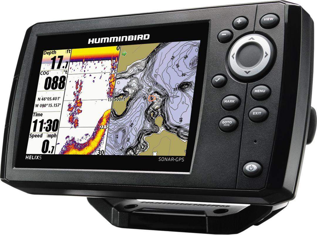Humminbird Helix 5 G2 Sonar GPS Fish Finder (410210-1)