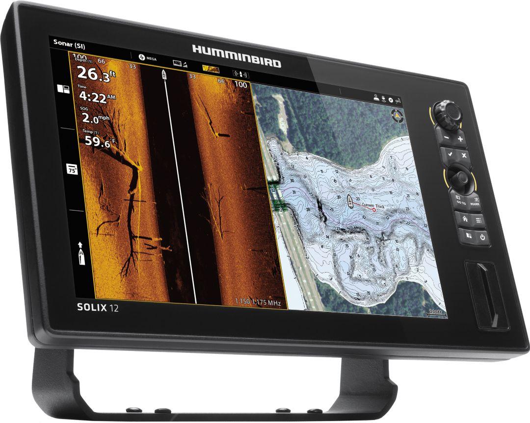 Humminbird Solix 12 SI+ G2 GPS Fish Finder (411030-1)