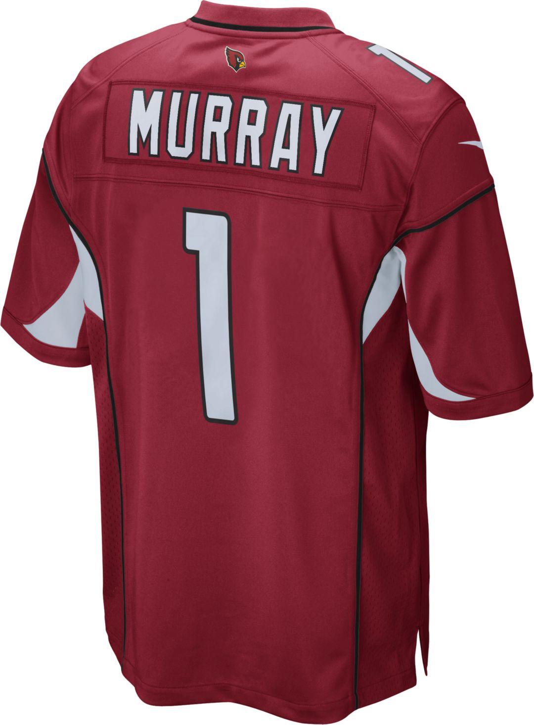 best sneakers a1ed0 49614 Kyler Murray #1 Nike Men's Arizona Cardinals Home Game Jersey