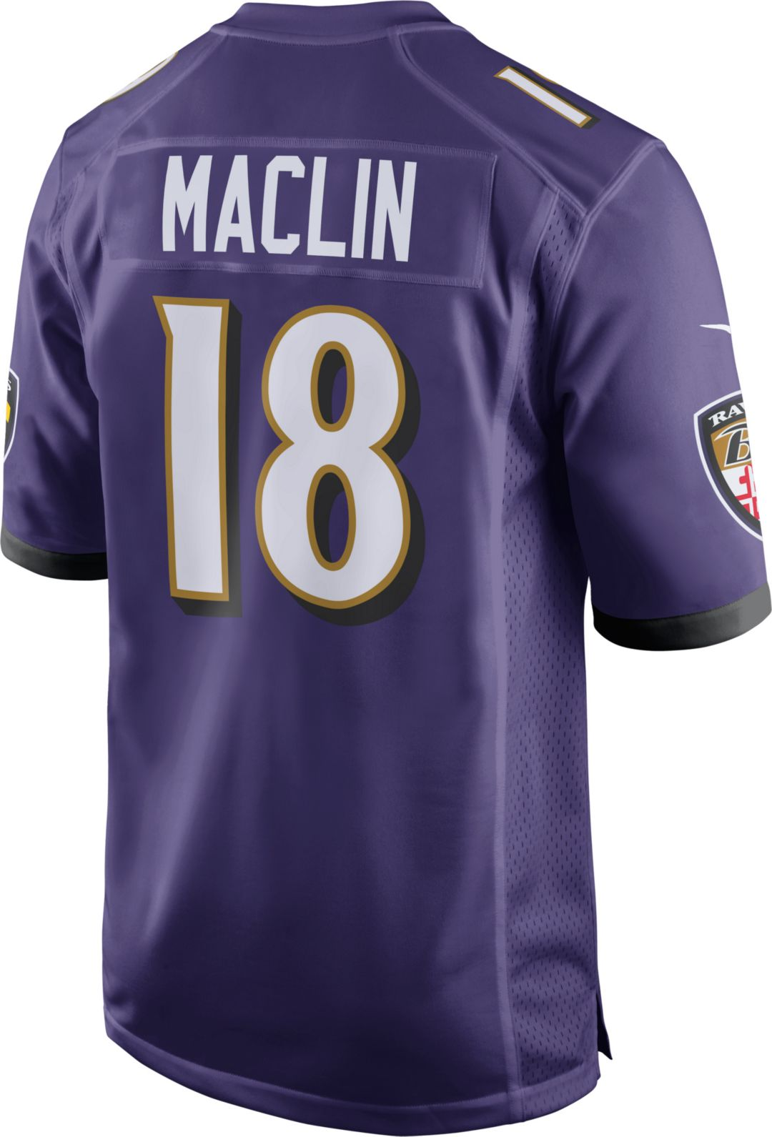 cheap for discount d01d7 a76ce Nike Men's Home Game Jersey Baltimore Ravens Jeremy Maclin #18