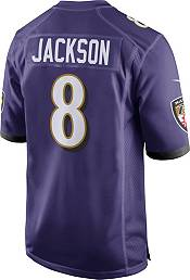 Lamar Jackson #8 Nike Men's Baltimore Ravens Home Game Jersey product image