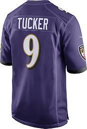 Nike Men's Home Game Jersey Baltimore Ravens Justin Tucker #9 product image