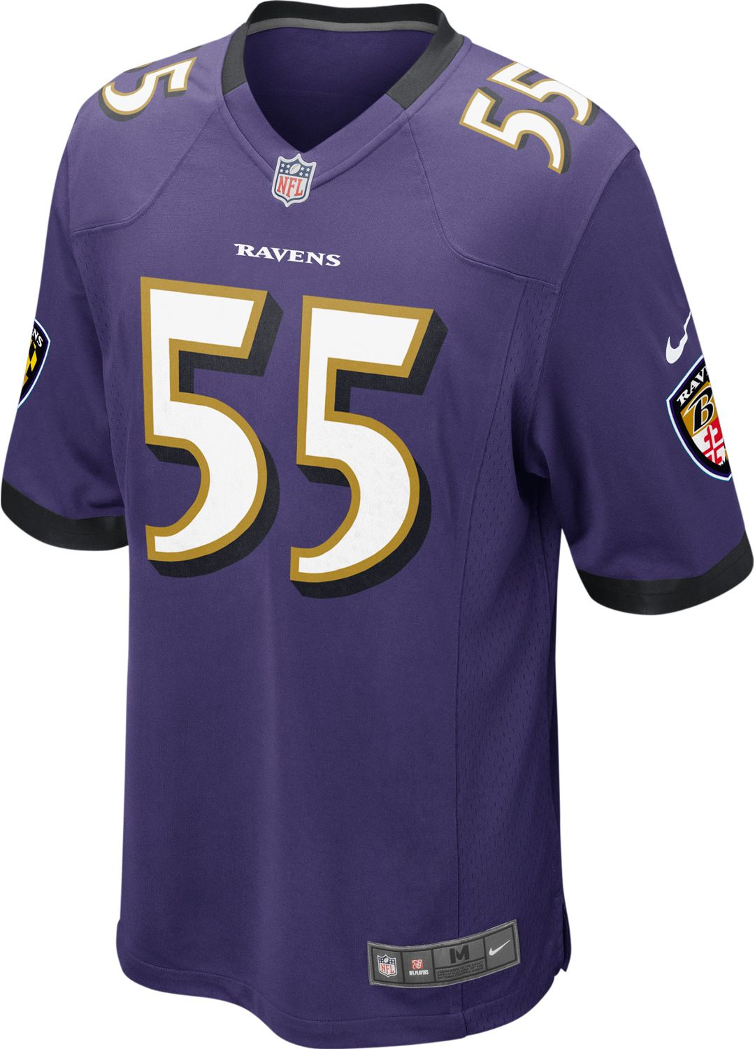 5d5d52aa Nike Men's Home Game Jersey Baltimore Ravens Terrell Suggs #55