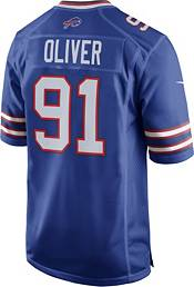 Nike Men's Home Game Jersey Buffalo Bills Ed Oliver #91 product image