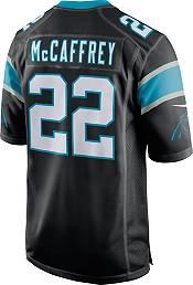 Nike Men's Carolina Panthers Christian McCaffrey #22 Black Game Jersey product image