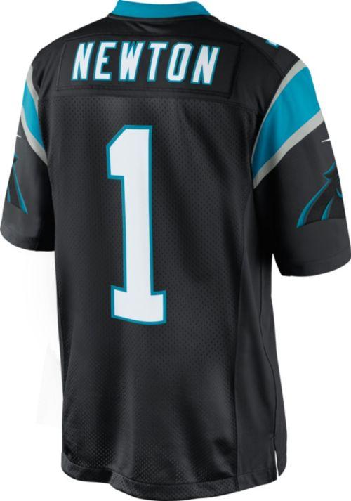 Nike Men s Home Game Jersey Carolina Panthers Cam Newton  1  10d6df941