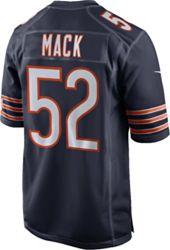 buy popular 400bc 6bb4f Nike Men's Home Game Jersey Chicago Bears Khalil Mack #52