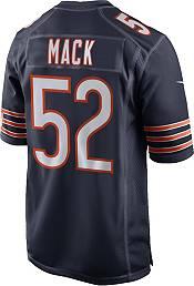 Nike Men's Chicago Bears Khalil Mack #52 Navy Game Jersey product image