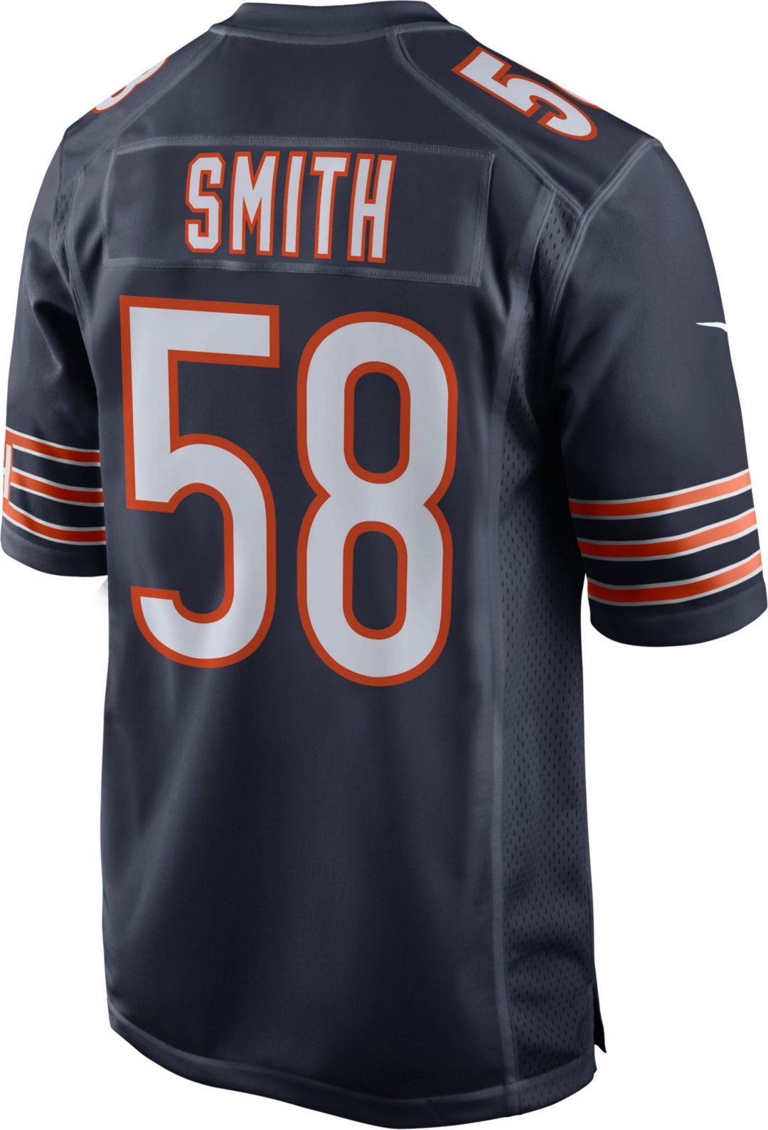 newest f8769 91a6a Roquan Smith #58 Nike Men's Chicago Bears Home Game Jersey