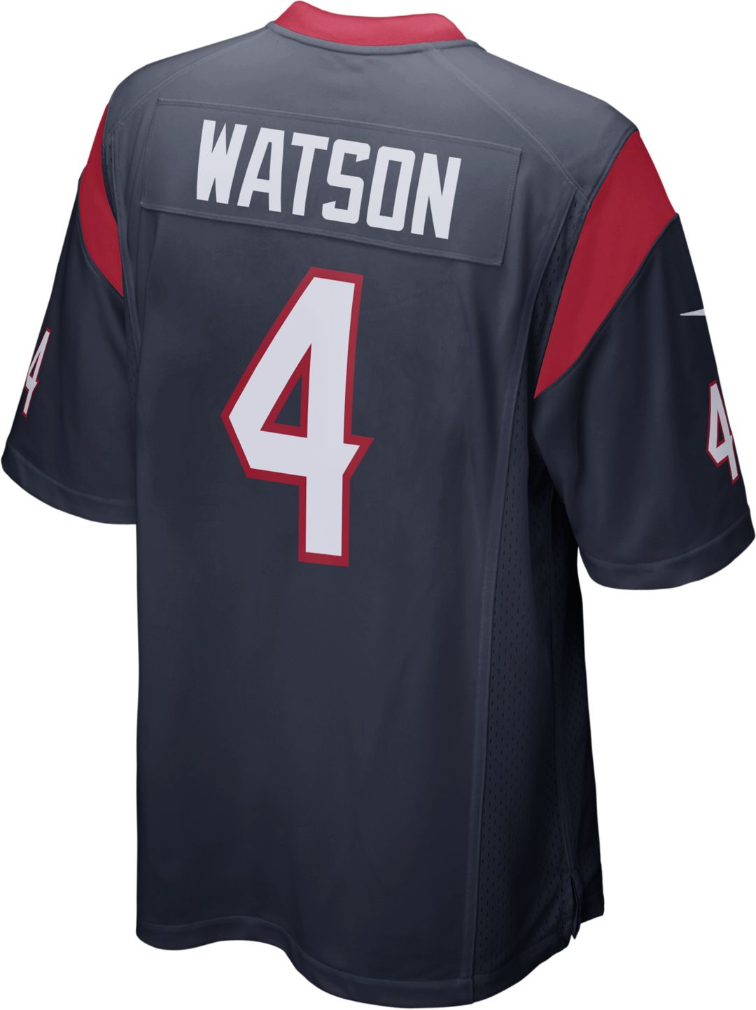 various colors ab9b9 77ace Nike Men's Home Game Jersey Houston Texans Deshaun Watson #4