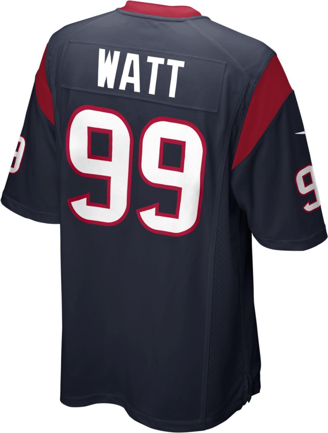 reputable site a046f 899d1 Nike Men's Home Game Jersey Houston Texans J.J. Watt #99