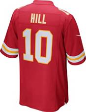 Nike Men's Kansas City Chiefs Tyreek Hill #10 Red Game Jersey product image