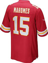3bc2df85c97 Nike Men s Home Game Jersey Kansas City Chiefs Patrick Mahomes  15 alternate  2
