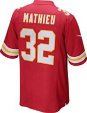 Nike Men's Kansas City Chiefs Tyrann Mathieu #32 Red Game Jersey